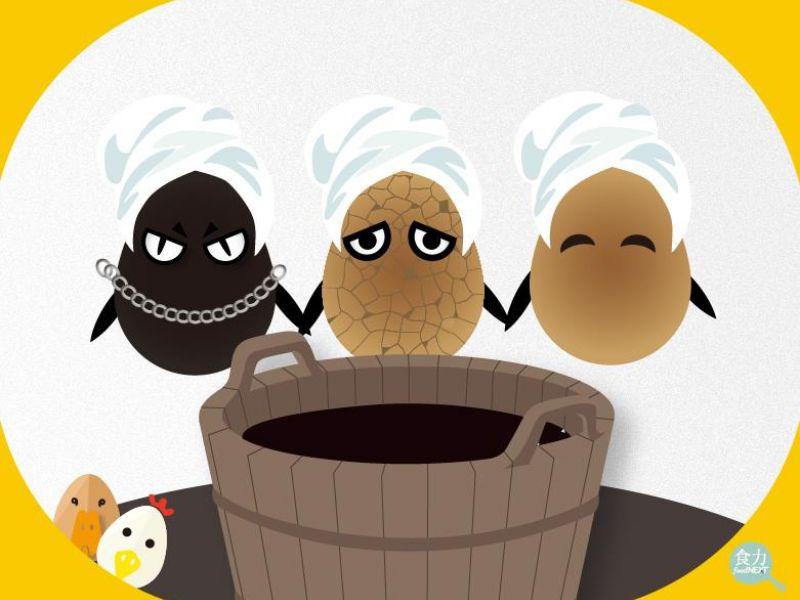 熟製蛋的進化三階段:滷蛋、鐵蛋、茶葉蛋