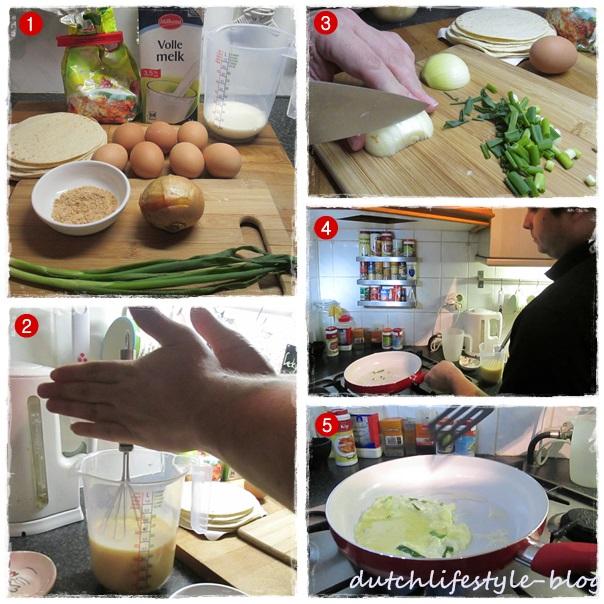 蛋餅DIY之一
