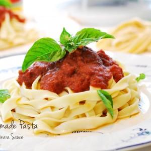 Homemade pasta 300x300